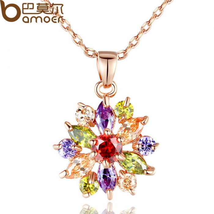 Real-Gold-Plated-Flower-Necklaces-Pendants-with-High-Quality-Cubic-Zircon-For-Women5